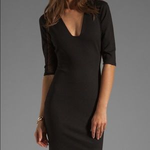NWOT Body Con Dress with See-Through Sides